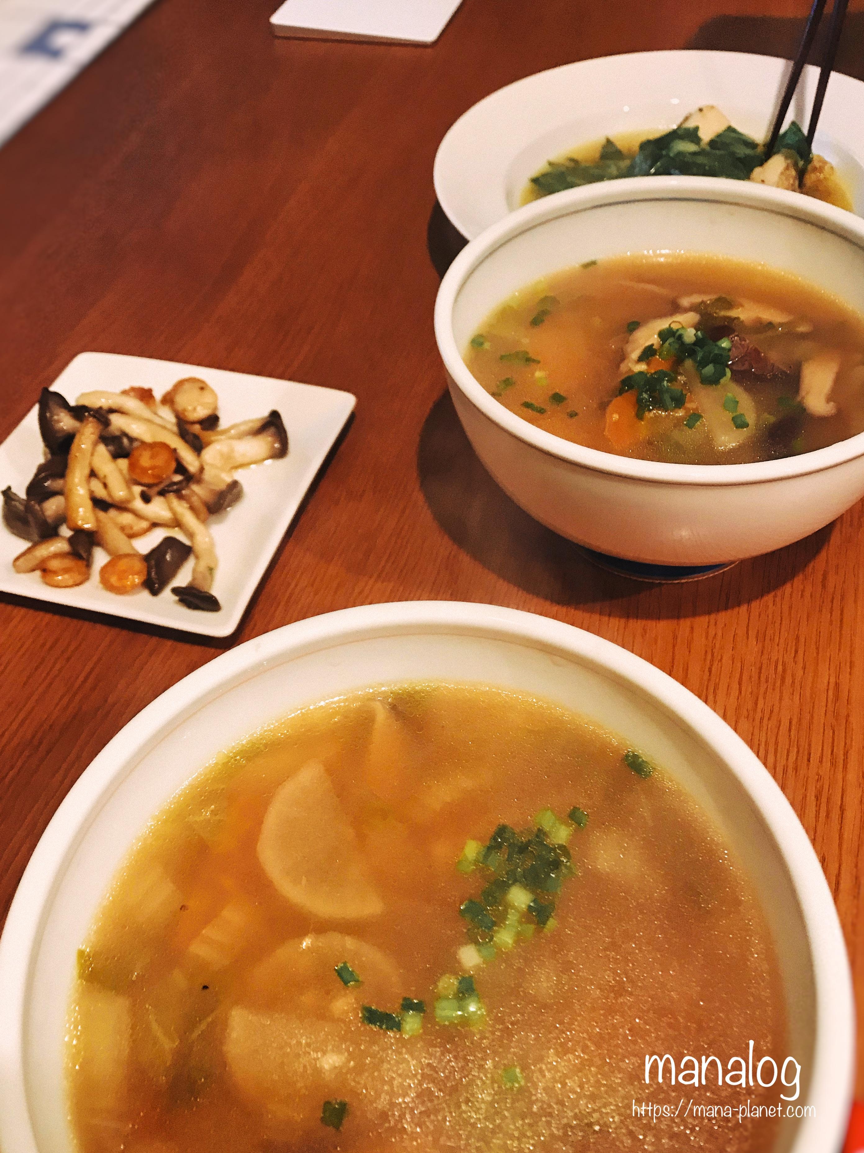 真鱈とキャベツのスープ煮とけん...